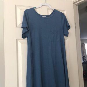 LulaRoe blue Carly